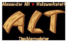 Logo Holzwerkstatt Alexander Alt